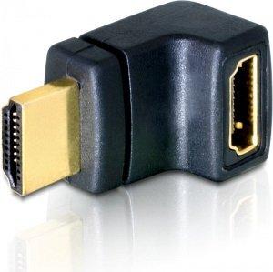 DeLOCK HDMI Adapter, Stecker/Buchse, gewinkelt oben (65072)