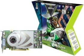 XFX GeForce 7800 GT Extreme Gamer, 256MB DDR3, 2x DVI, ViVo, PCIe, bulk/lite retail (PV-T70G-UDF3)