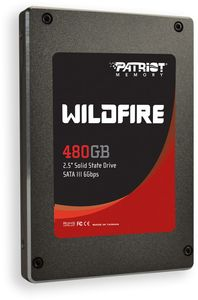 "Patriot Wildfire 480GB, 2.5"", SATA 6Gb/s (PW480GS25SSDR)"