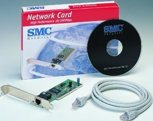 SMC 1233A-TX EZ Card 10/100, 1x 100Base-TX, PCI
