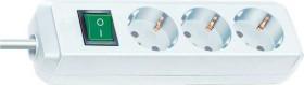 Brennenstuhl Eco-Line mit Schalter weiß 3-fach, 1.5m (1152320015)