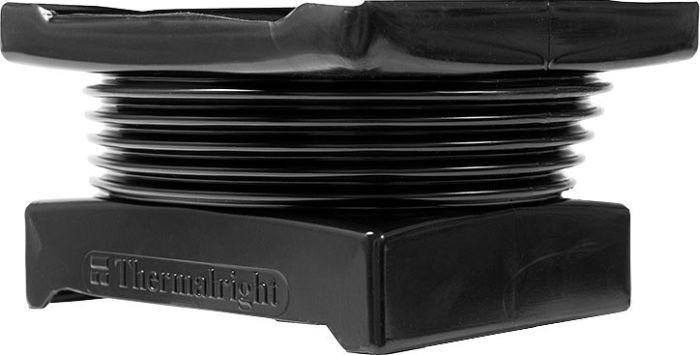 Thermalright 140mm Fan Duct fan adapter, black