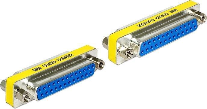 DeLOCK Sub-D 25-Pin Adapter, Buchse/Buchse (65483)