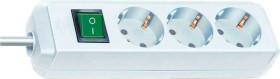 Brennenstuhl Eco-Line mit Schalter weiß 3-fach, 3m (1152320400)