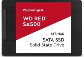Western Digital WD Red SA500 NAS SATA SSD 4TB, SATA (WDS400T1R0A)