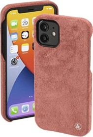 Hama Cover Finest Touch für Apple iPhone 12/12 Pro Coral (188831)