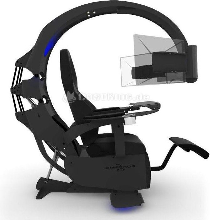 MWE Lab Emperor XT Playseat Black