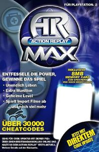 Action Replay Max (deutsch) (PS2)