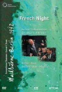 """Die Berliner Philharmoniker - Waldbühne in Berlin 1992: """"Französische Nacht"""" -- via Amazon Partnerprogramm"""