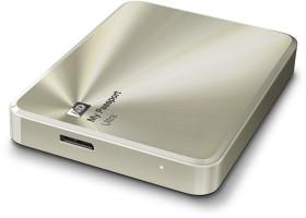 Western Digital WD My Passport Ultra Metal gold - Anniversary Edition - 2TB, USB 3.0 Micro-B (WDBEZW0020BCG)