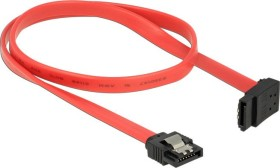 DeLOCK SATA 6Gb/s cable red 0.5m, top angled (83974)