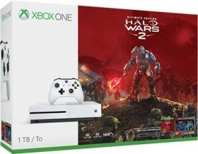 Microsoft Xbox One S - 1TB Halo Wars 2 Bundle weiß
