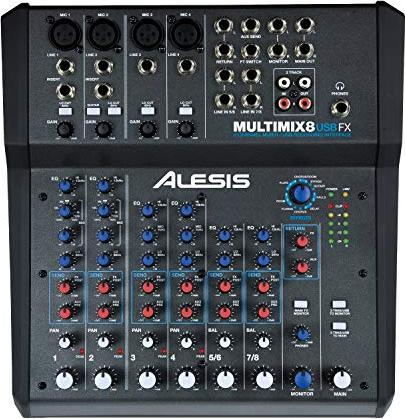 Alesis MultiMix 8 USB FX -- via Amazon Partnerprogramm