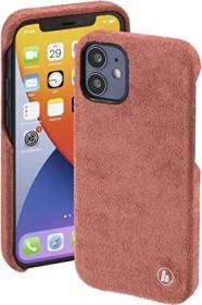 Hama Cover Finest Touch für Apple iPhone 12 Mini Coral (188814)
