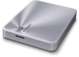 Western Digital WD My Passport Ultra Metal silber, 2TB, USB 3.0 Micro-B (WDBEZW0020BSL)