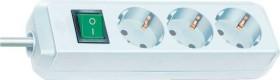 Brennenstuhl Eco-Line mit Schalter weiß 3-fach, 5m (1152920)