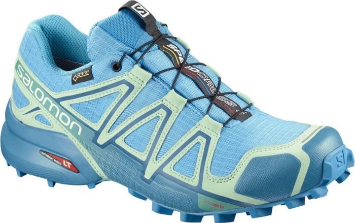 Salomon Damen Speedcross 4 GTX Trailrunning-Schuhe, Aquamarinblau (Aquarius/Beach Glass/Hawaiian Surf), 38 EU