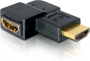 DeLOCK HDMI Adapter, Stecker/Buchse, gewinkelt rechts (65076)