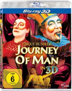 Cirque du Soleil - Journey of Man (3D) (Blu-ray)