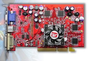 Transcend Radeon 9600 Pro, 128MB DDR, DVI, wyjście TV(TS128MVDR96P)