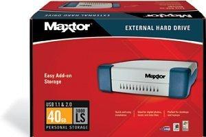 Maxtor Personal Storage 3000LS 40GB, USB 2.0 (G14J040)