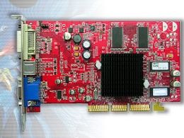 Transcend Radeon 9200, 64MB DDR, DVI, TV-out (TS64MVDR92)