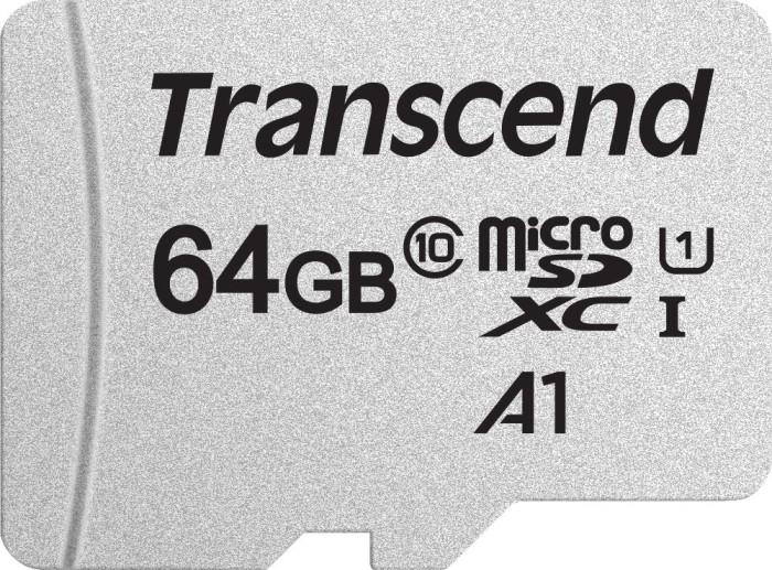 Transcend 300S R95/W40 microSDXC 64GB, UHS-I U1, Class 10 (TS64GUSD300S)