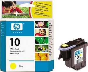 HP 10 Printhead yellow (C4803A)