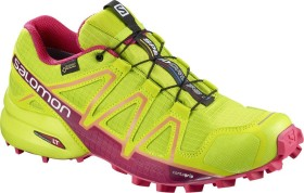 Salomon Speedcross 4 GTX lime green/virtual pink/bird of paradise (Damen) (401012)