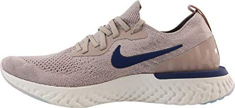 7b398b22f371 Nike Epic React Flyknit diffused taupe phantom crimson tint blue ...