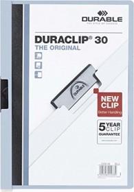 Durable Duraclip 30 Klemm-Mappe A4, blau (220006)