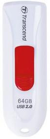 Transcend JetFlash 590 weiß 64GB, USB-A 2.0 (TS64GJF590W)