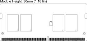 Micron SO-DIMM 4GB, DDR3L-1866, CL13 (MT8KTF51264HZ-1G9P1)