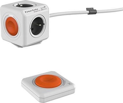 allocacoc/Segula PowerCube Extended Remote weiß/orange Typ E (1522FR-EXRM) -- via Amazon Partnerprogramm