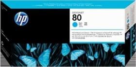 HP Druckkopf 80 cyan mit Reiniger (C4821A)