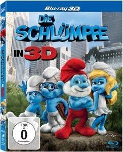 Die Schlümpfe (3D) (2011) (Blu-ray)