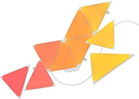 nanoleaf Shapes Triangles Smart Lighting LED Panel Starterkit 9x 1.5W (NL47-0002TW-9PK)