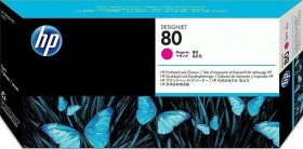 HP Printhead 80 magenta with cleaner (C4822A)