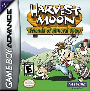 Harvest Moon: Friends of Mineral Town (English) (GBA)