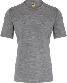 Icebreaker Merino 200 Oasis Crewe Shirt kurzarm gritstone heather (Herren) (104509-013)