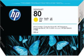 HP ink 80 yellow 350ml (C4848A)