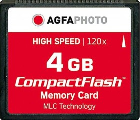 AgfaPhoto CompactFlash Card [CF] 120x 4GB (10432)