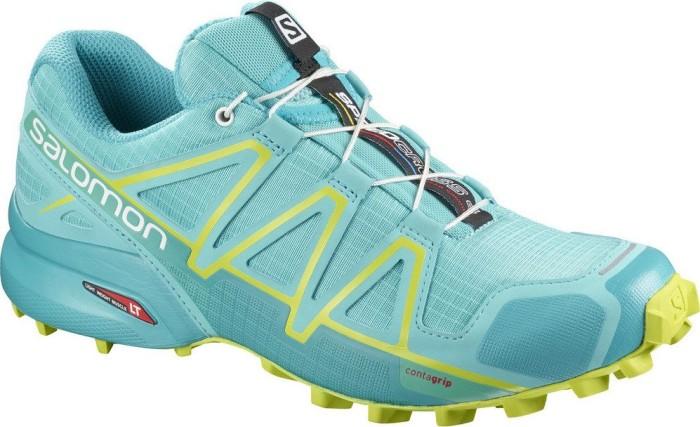 Salomon Damen Speedcross 4 W Traillaufschuhe, Blau (Bluebird/Acid Lime/Black Bluebird/Acid Lime/Black), 40 EU