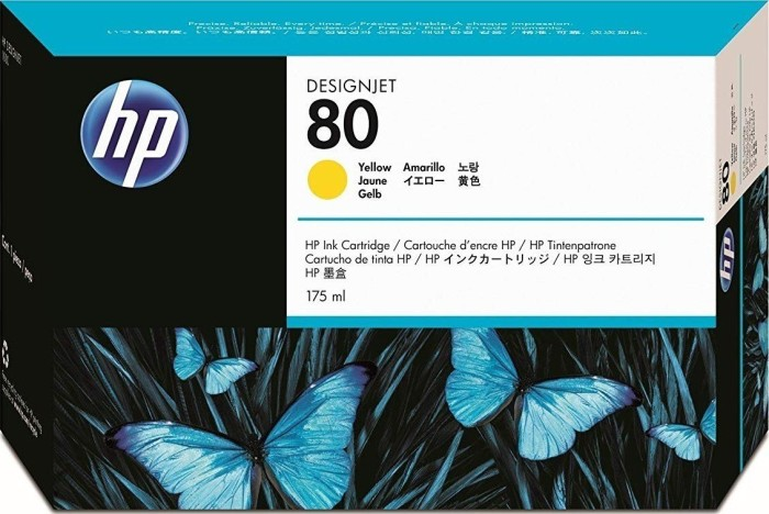 HP ink 80 yellow 175ml (C4873A)
