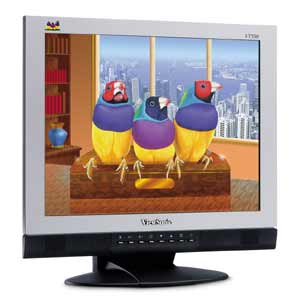 "ViewSonic VT550, 15"", 1024x768, analog/digital, TV-Tuner"