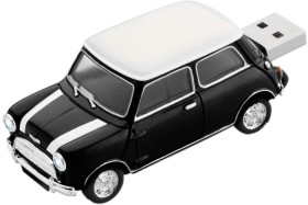 BestMedia Platinum Mini Cooper schwarz 4GB, USB-A 2.0 (177539)