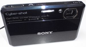 Sony Cyber-shot DSC-TX7 blue -- provided by bepixelung.org - see http://bepixelung.org/10523 for copyright and usage information