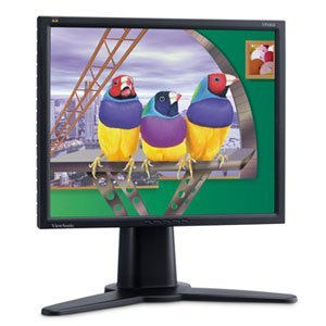 "ViewSonic VP181b schwarz, 18.1"", 1280x1024, analog/digital"