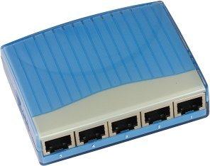 MS-Tech LH-550 5-portowy switch