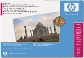HP Premium Plus Foto und Proofing Papier hochglänzend A3+, 286g/m², 25 Blatt (Q5486A)